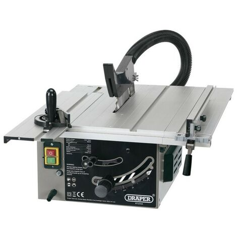 Draper 1800w Table Saw 250mm Cut Extended Work Area of 800 x 590mm 240v BTS256A