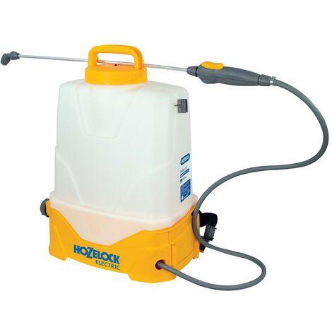 Hozelock 4615 15 Litre Electric Pressure Sprayer Weed Killer Spray Knapsack