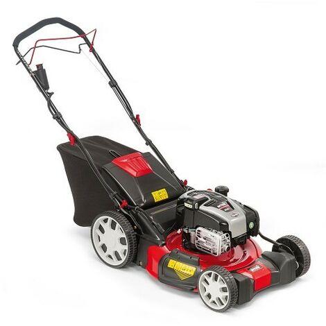 Lawnflite Optima 53cm Petrol Lawn Mower Self Propelled High Wheel Electric Start