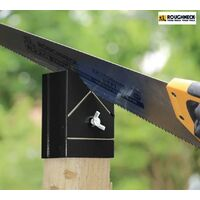 Roughneck Fence Wooden Post Top Shaper Jig Guide Tool 75mm ROU67703