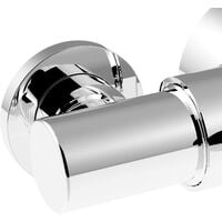 Bristan Sirrus Gummers OPAC TS1203 Exposed Thermostatic Mixer Shower 110 130mm
