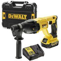 Dewalt DCH133M1 18v SDS+ Brushless Hammer SDS Drill 1 x 4.0ah Battery Tstak Case