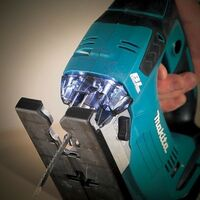 Makita DJV182Z 18v LXT Brushless Top Handle Jigsaw + Makpac Carry Case DJV182ZJ