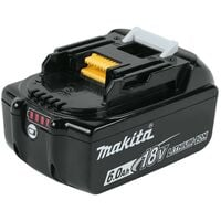 Makita BL1860 18v 6.0ah Lithium Batteries Twin Pack + DC18RC Fast Charger