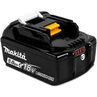 Makita BL1850 18v 2 x 5.0ah Lithium Batteries DC18RC Fast Charger + Makpac Case