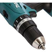 Makita 18v Cordless Combi Hammer Drill Lithium Ion HP457DZ - Bare Unit - BL1813G