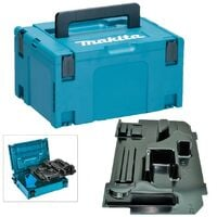Makita 18v 2kg SDS Hammer Drill Makpac Tool Case and Inlay for BHR202Z DHR202Z