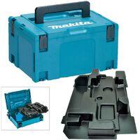 Makita 18v Cordless Planer Makpac Tool Case and Inlay for DKP180