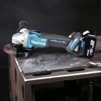 Makita DGA456Z 18v Cordless Brushless Angle Grinder 115mm + Makpac Case DGA456ZJ