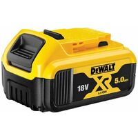 3 x Dewalt DCB184 5.0ah 18v XR Lithium Ion Battery + DCB115 Charger
