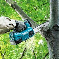 Makita DUC254RTE 18v LXT Cordless Brushless 25cm Chainsaw Top Handle 2 x 5.0ah