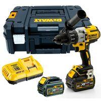 Dewalt DCD996T2 18v XR 3 Speed Brushless Combi Hammer - 2 x 6.0ah Batteries