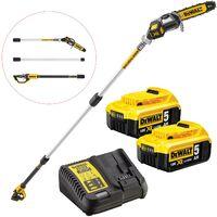 Dewalt DCMPS567P2 18v XR Brushless Pole Saw Chainsaw Pruner Split Shaft -2X5.ah