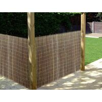Kingfisher Willow Screening Garden Fence Panel Wall Cover Panel Edging 1m x 3m
