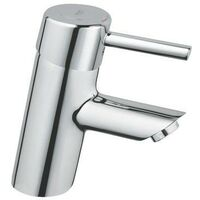 Grohe 32240 Concetto Single Lever Basin Mixer Tap Smooth Body Chrome 3224010L