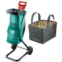 Bosch AXT Rapid 2200 Razor Sharp Garden Shredder + Collection Bag & Cover