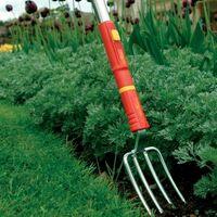 Wolf Garten Steel Hand Fork 7.5cm LUGM Garden Multi Change