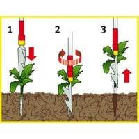 Wolf Garten Weed Extractor 4cm IWM Garden Tool Multi Change Weeding