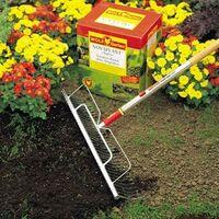 Wolf Garten Multi Change Longspan Long Wide Rake 58cm UHM Lawn Leaf Clippings