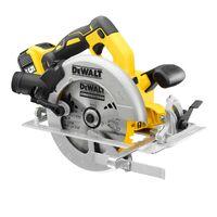 DeWalt DCS570P2 18v Brushless XR 184mm Circular Saw - 2 x 5.0ah Batteries + Case