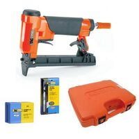 Tacwise A7116V Pneumatic 71 Series Air Upholstery Stapler with Staples + Remover