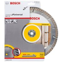 """Bosch Universal Diamond Blade 9"""" 230mm High Speed + Quick Change Locking Nut"""