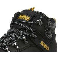 DeWalt Laser Black Safety Work Boots Steel Toecap UK Size 12 + DeWALT Boot Bag