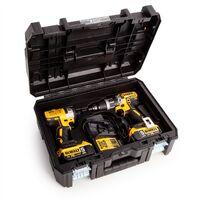 Dewalt DWST1-70703 TStak II Power Tool T-STAK Storage Box & Impact & Drill Inlay