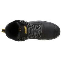 DeWalt Laser Black Safety Work Boots Steel Toecap UK Size 9 + DeWALT Boot Bag