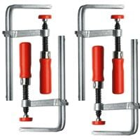 Bessey Guide Rail Plunge Saw Steel Table Clamps GTR 120/60 BE104908 Four Pack