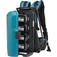 Makita 191A64-2 18v LXT Portable Power Supply Pack PDC01 + Twin 18v Adaptor