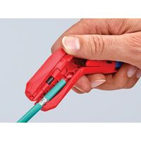 Knipex Cable Dismantling Tool Round Data Flat Coex Cable Stripper KPX169501