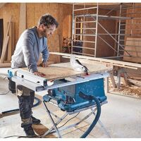 Bosch GTS635-216 240v Portable Table Saw 216mm 1600w & GTA560 Leg Stand
