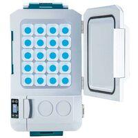 Makita DCW180Z 18v LXT 20L Cooler & Warmer Cool Box Wheeled Bare + AC Mains Plug