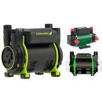 Salamander CT50+ XTRA 1.5 Bar Positive Twin Shower Pump +Iso Hoses CT50PLUS XTRA
