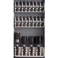 Bosch 2608522365 36 Piece Impact Rated Nut Screwdriver Drill Bit Set + Case