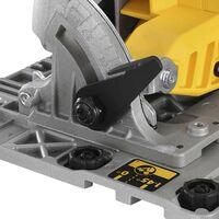 Dewalt DCS572P2 18v XR Brushless 184mm Circular Saw Guide Rail Base - 2 x5.0ah