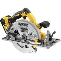 Dewalt DCS572P1 18v XR Brushless 184mm Circular Saw Guide Rail Base - 1 x5.0ah
