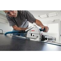 Bosch GKT55GCE 240v 1400w Circular Plunge Saw 165mm LBOXX + 1.1m Guide Rail