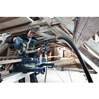 "Bosch GCM8SJL 8"" Sliding Mitre Saw with Laser & Blade 240v + GTA2600 Leg Stand"