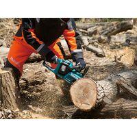 "Makita DUC355 Twin 18v / 36v LXT Cordless 35cm 14"" Chainsaw Lithium 2 x6.0Ah"