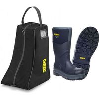 DeWalt Hobart Wellington Boot S5 Safety Steel Toe Insulated -20C Size 10 and Bag