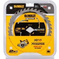 Dewalt DT40271 Extreme Runtime High Torque Circular Saw Blade 190 x 36T DCS577