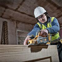 Dewalt DCP580M2 18v XR Cordless Brushless Planer + 2 x 4.0ah Batteries Tstak