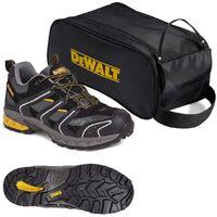 DeWalt Cutter Lightweight Safety Site Trainer Steel Toecap UK Size 8 with Bag