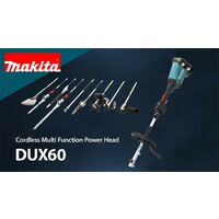 Makita DUX60 Brushless Twin 18v 36v LXT Cordless Split Shaft Multi Tool 2 x 5ah