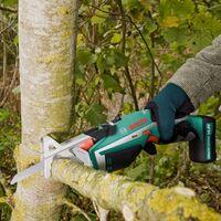 Bosch Keo Garden Recip Pruning Multi Saw 10.8v Li-Ion & Battery % Recip Blades