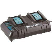 Makita BL1850 18v 2 x LXT 5.0ah Lithium-Ion Batteries + DC18SH Dual Port Charger