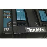 Makita DC18SH LXT Lithium Ion 240v 14.4 - 18 v Dual Port Battery Charger 140W