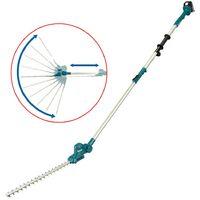 Makita DUN461WZ LXT 18v Telescopic Cordless Pole Hedge Cutter Trimmer Long Reach